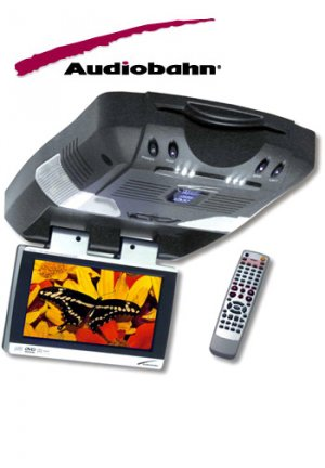 AUDIOBAHN 7 IN TFT MONITOR WITH DVD PLAYER FREE SHIPPING!!!