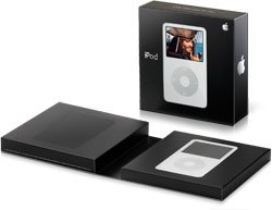 Apple iPod Video 30GB - 7500 Songs in Your Pocket (Black) + Clear Ipod Case free shipping!!!
