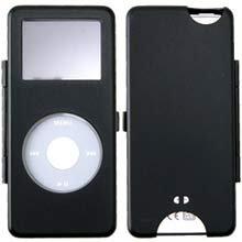 Apple Nano Metal Black Ipod Case