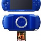 Sony Playstation Portable Blue Metallic Bundle with 1 Hot Game FREE SHIPPING!!!!