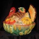Fitz & Floyd - Autumn Bounty Covered Vegetable Bowl
