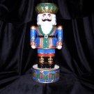 Fitz & Floyd  - King Nutcracker Candleholder