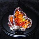Fitz & Floyd Pastel Jewel Butterfly Trinket Box