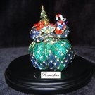 Fitz & Floyd - Santa's Toy Bag Trinket Box