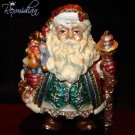 Fitz & Floyd - Santa - Jolly Ole St. Nick Trinket Box