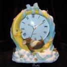Charming Tails - Moon & Stars Child Clock
