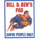Personalized SUPERMAN Kids Bedroom Door SIGN