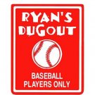 Personalized BASEBALL Boys Bedroom Door SIGN