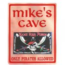 Personalized PIRATES CAVE Kiuds Bedroom Door SIGN