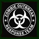 "ZOMBIE OUTBREAK RESPONSE TEAM -5"" Vinyl STICKER / DECAL"