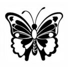 BUTTERFLY Vinyl sticker/decal
