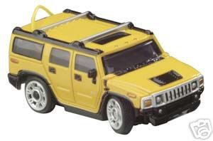 ZipZaps Custom RC Starter Kit Hummer H2 SUT (Yellow)