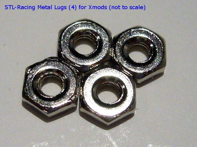 Xmod Metal Lug Nuts replacement for Xmods Gen 1 Evo and Street