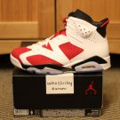 DS Nike Air Jordan 6 VI Carmine Size 9 Infrared Slam Dunk Doernbecher Spizike Legend