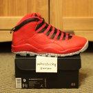 DS Nike Air Jordan 10 X 30th Anniversary Bulls Over Broadway Size 9 BoB Gym Red Lady Liberty NYC