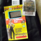 Wrangler Misses Cowboy Cut Black Jeans Size 9 X 32 NWT
