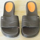 Tommy Hilfiger Brown Sandals Slides Size 8 M