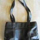 Women's Black handbag and coin purse