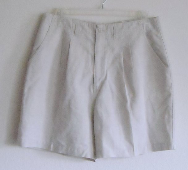 Northern Reflections Womens Beige Shorts Waist 34