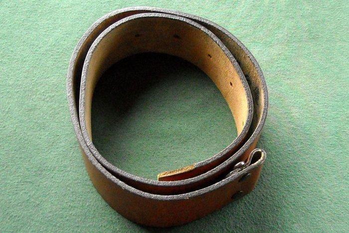 "Original Canterbury womens leather belt 34"""