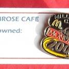 McDonald's Monopoly Millennium crew 2000 tie tac pin