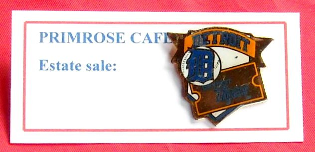 Diamond Series 1991 Detroit Tigers Tie Tac Pin