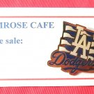 Diamond Series 1991 Los Angeles Dodgers tie tack pin