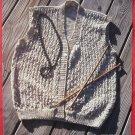Vintage Yarns Brunswick Lacy Vest Pattern