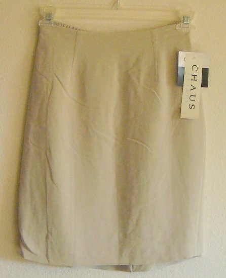 Chaus Petite Misses Silk Skirt Size 8 NWT