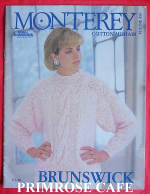 Brunswick Monterey cotton mohair pattern volume 859 softcover