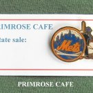 Vintage Mets New York Baseball Team tie tac pin