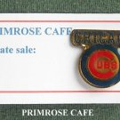 Vintage Chicago Cubs Baseball Team Tie Tac Pin