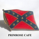 Vintage Confederate Rebel Flag tie tac pin