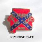 Vintage RCA Alabama Confederate Rebel Flag tie tac pin