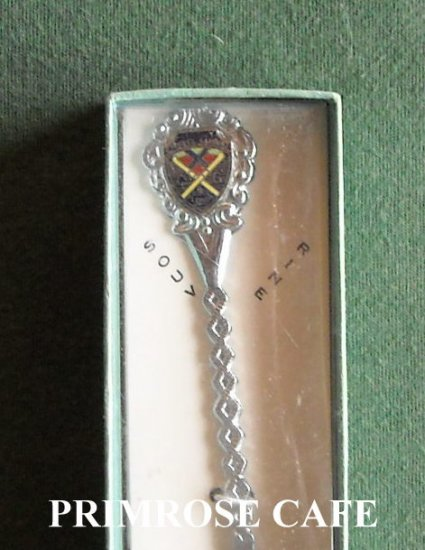 Cypress Gardens Florida miniature souvenir spoon