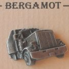 Vintage Bergamot Truck Tractor Pewter Tie Tac Hat Lapel Pin