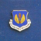 Meyer Insignia Blue Shield and Gold Wings US Air Force in Europe tie tac hat lapel pin