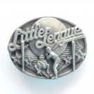 Little League Baseball 3D mens Siskiyou Pewter belt buckle