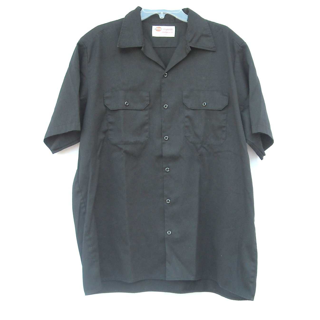 Dickies Mens Short Sleeve Shirt Size X Large