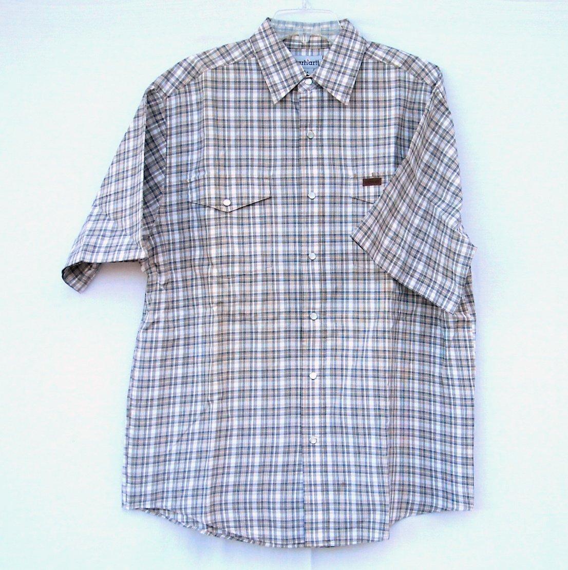 Carhartt men's short sleeve shirt size M Medium
