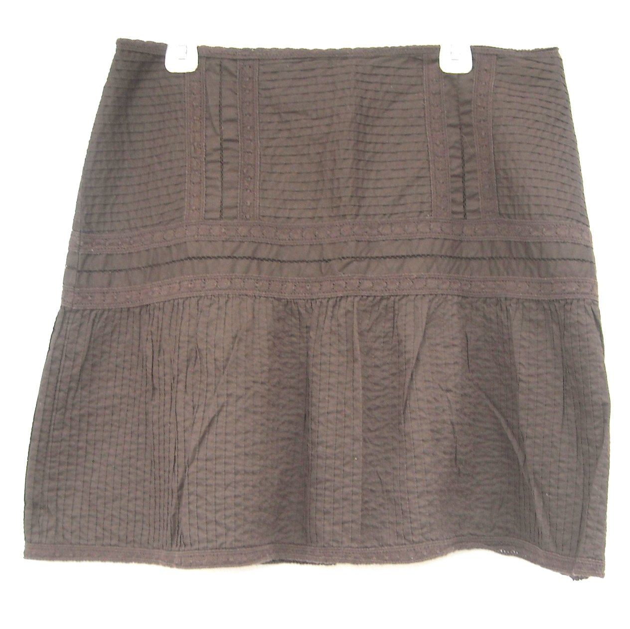 INC International Concepts Womens Brown Skirt Size 14