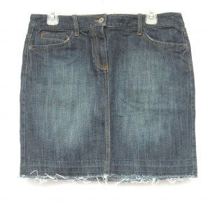 Ann Taylor Loft womens denim skirt size 6