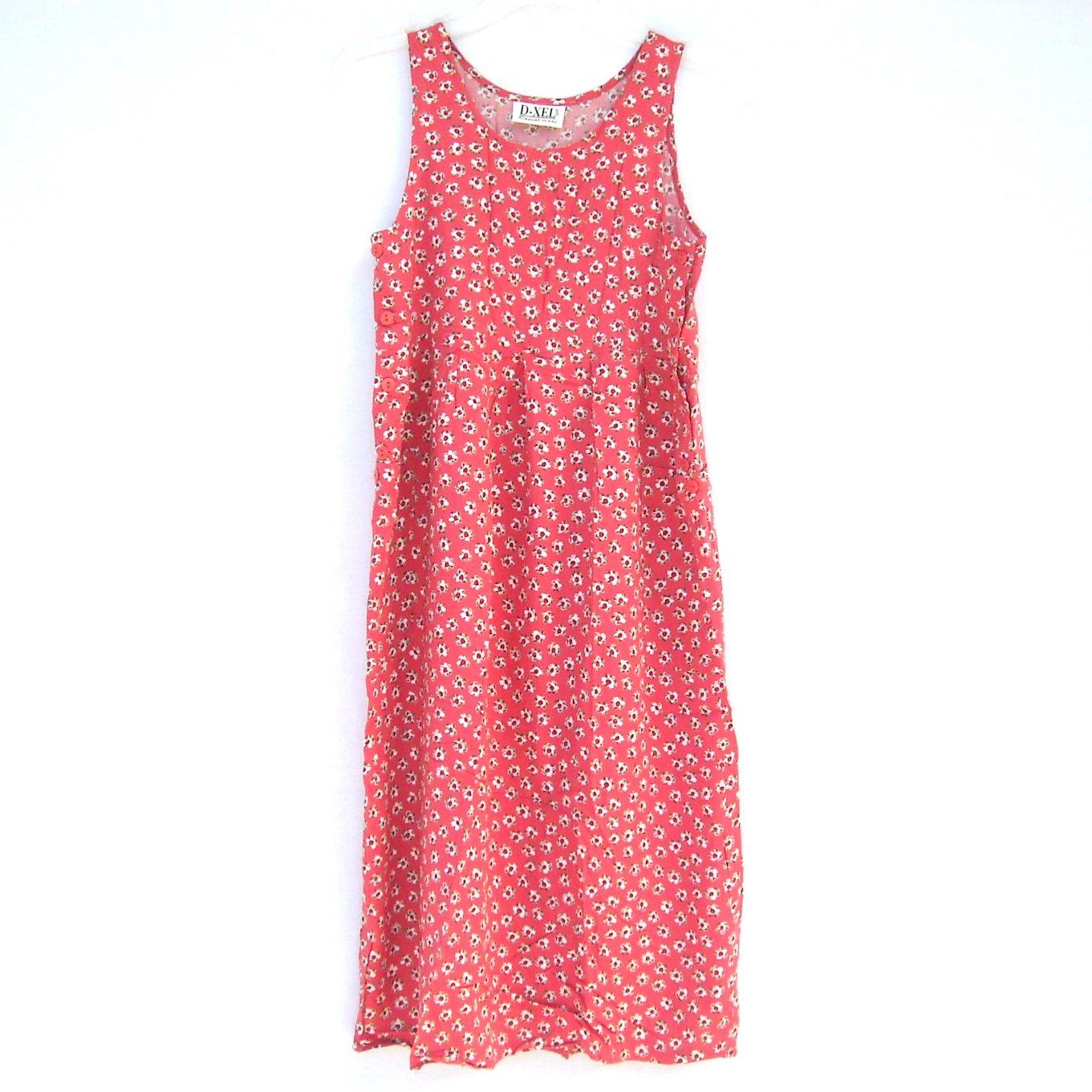 Dxel casual wear girls vintage danish summer dress size 10