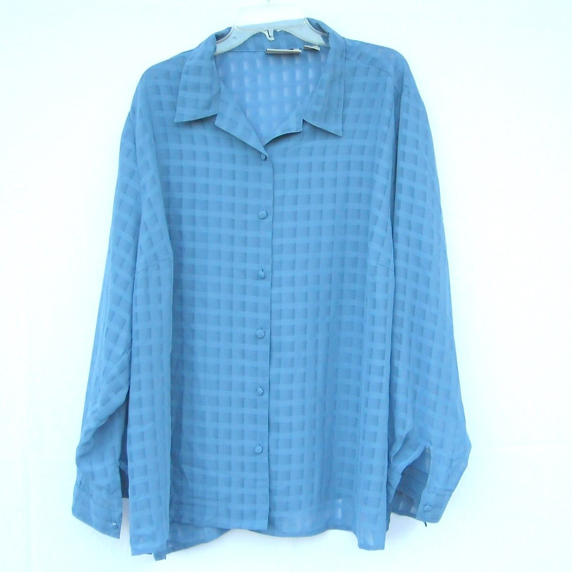 Maggie Barnes Womens Shirt Blouse Top Size 28 W