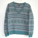 Eddie Bauer Petite Womens Knit Sweater Top Size M