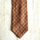 Calvin Klein Golden Designer Mens Silk Tie Necktie