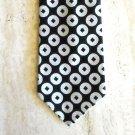 Vintage Golden Clasp Prince Consort Mens Wide Necktie Tie