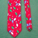 Christmas Holidays Yule Tie Mens Silk Necktie NWT