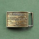 Vintage Levi Strauss & Co brass belt buckle