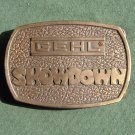 Gehl Showdown Bergamot Brass 1976 belt buckle